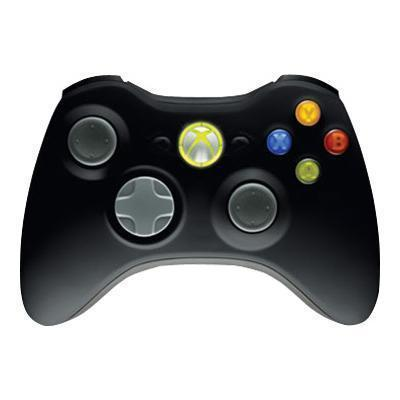 Microsoft Jr9-00011 Xbox 360 Wireless Controller For Windows - Gamepad - Wireless - 2.4 Ghz - Black - For Pc   Xbox 360