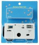 Superheadz ikimono Flash Hari 110 Format Camera Hedgehog with Film
