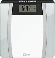 Conair Ww701y Body Weight Analysis Glass Scale - Silver