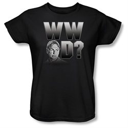 Womens NCIS Short Sleeve WHAT WOULD GIBBS DO Large T-Shirt Tee