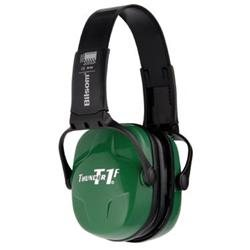 Howard Leight Thunder T1F Light Green Plastic Headband Folding Earmuffs