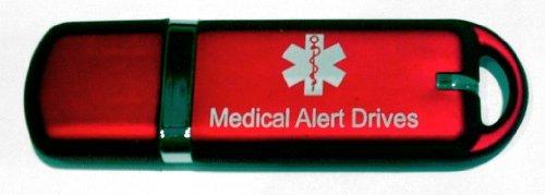 Medical Alert USB Flash Drive Pendant