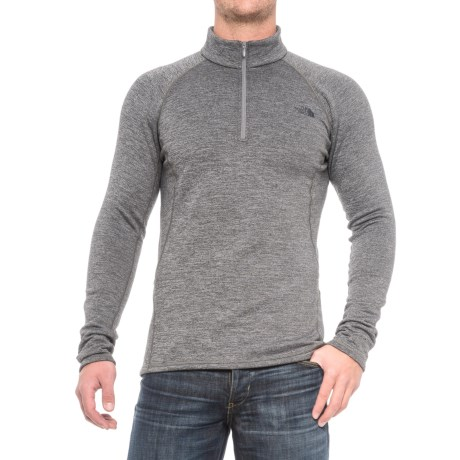 Expedition Base Layer Top - Zip Neck, Long Sleeve (for Men)