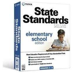 Topics State Standards Deluxe: Elementary School Edition - Complete Product - 1 User - Educational - Standard Retail - PC, Mac