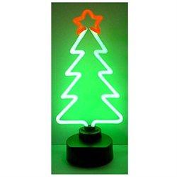 Christmas Tree Neon Sculpture - by Neonetics
