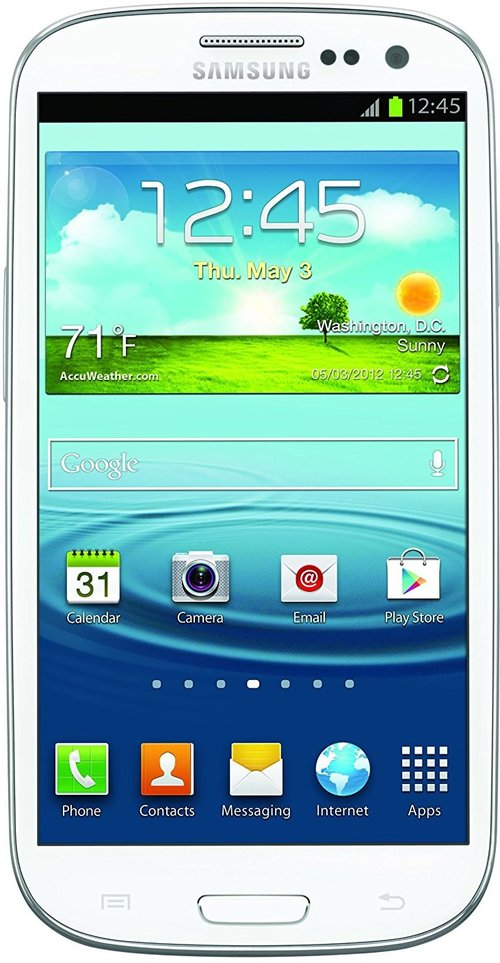 Samsung Galaxy S3 Sam-l710wtr Smartphone - Qualcomm Mdm8960 1.5 Ghz Dual-core Processor - 2 Gb Ram - 16 Gb Storage - 4.8-inch Touchscreen Display - An