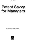 Patent Savvy For Managers: Spot