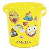 Lillian Vernon Personalized Kids Emoji Beach Bucket - 7