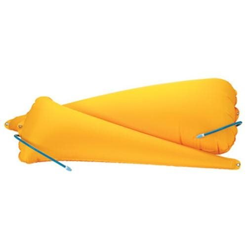 Full Sea Kayak Float Set in Yellow, Fenders and Bumpers