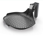 """""""Philips Non-Stick Fry/Grill Pan HD9910 Brand New Includes One Year Warranty, The Philips Non-Stick Fry/Grill Pan HD9910 is created exclusively for the Philips Airfryer, this Grill Pan has a ridged surface to grill and sear meat, fish and vegetables"""