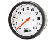 """Auto Meter Phantom In-Dash Electric Tachometer Features: Red Pointer For Quick Glance Monitoring    Safeguard Against Dangerous Conditions    Precision Movement And Extreme Accuracy    1 Year Limited Warranty Height: 6.00"""" Width: 6.00"""" Length: 6.00"""" Weight: 1.00 lbs"""