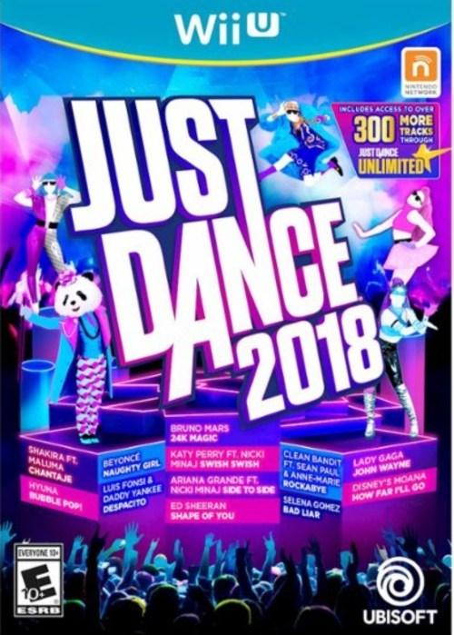 Ubisoft Ubp10802112 Just Dance 2018 - Nintendo Wii U