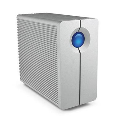 Lacie 9000354 2big Quadra 6tb Usb 3.0 And Firewire 800 External Hard Drive