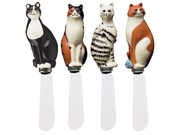 Boston Warehouse Warren Kimble Cat Spreader - Set Of 4