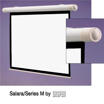 Draper  Inc. 137008 Salara/series M Ntsc Video Format - Projection Screen - Wall Mountable - 100 In (100 In) - 4:3 - Fiberglass Matt White
