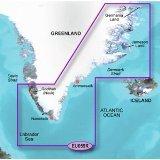 Garmin Bluechart G2 - HXEU059R - Greenland East - MicroSD & SD