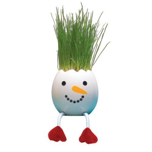 Nyokki Grass Pets (set of 2) - Snowman