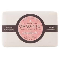 Pure Provence Bar Soap - Organic Grapefruit - 5.3 oz