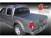 Bak Industries 90-26506bt Bakflip Cs Hard Folding Tonneau Cover W/ Contractors Sliding Rack System And Bakbox