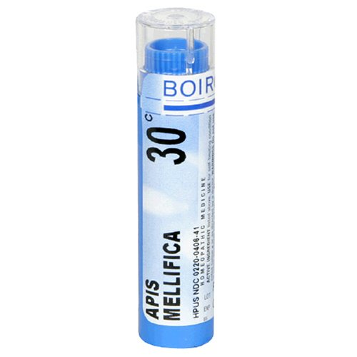 Boiron Homeopathic Medicine Apis Mellifica, 30C Pellets, 80-Count Tubes (Pack of 5)