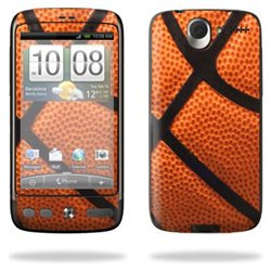 Protective Vinyl Skin Decal Cover for HTC Desire Smart Phone Cell Phone Sticker Skins Cell Phone - Basketball