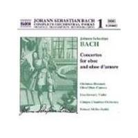 Bach: Oboe Concertos, Volume 1