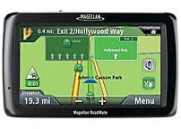 Magellan Roadmate Series Rm5045rgluc 5045-lm 5-inch Color Lcd Gps Receiver With Lifetime Maps And Traffic - Usb 2.0 - Spoken Street Names - Microsd Memory Card Slot