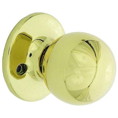 Hardware House 12-4560 BP 3 Helena Design Locksets Dummy Knob Polished Brass