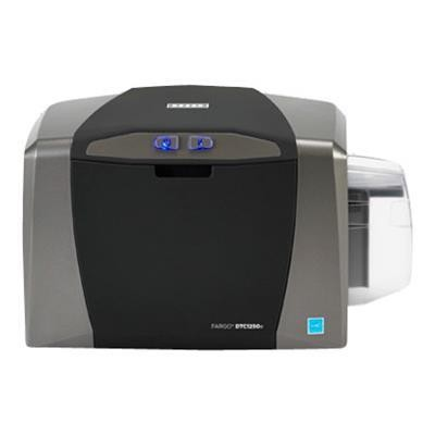 Fargo 50030 Dtc 1250e - Plastic Card Printer - Color - Optional - Dye Sublimation/thermal Resin - Cr-80 Card (3.37 In X 2.13 In) - 300 Dpi - Up To 600 Cards/hou