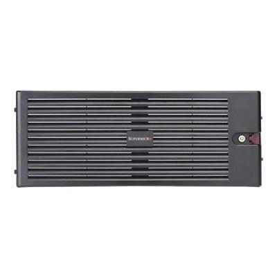 Super Micro Mcp-210-84601-0b Supermicro - System Cabinet Front Bezel - Black - 4u - For Sc846 E1-r710b  E1-r900b  E2-r900b  Tq-r900b  Sc848 A-r1800b