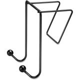 Wire Partition Additions Double Coat Hook