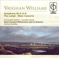 Vaughan Williams: Symphony No. 5 In D; Flos Campi; Oboe Concerto