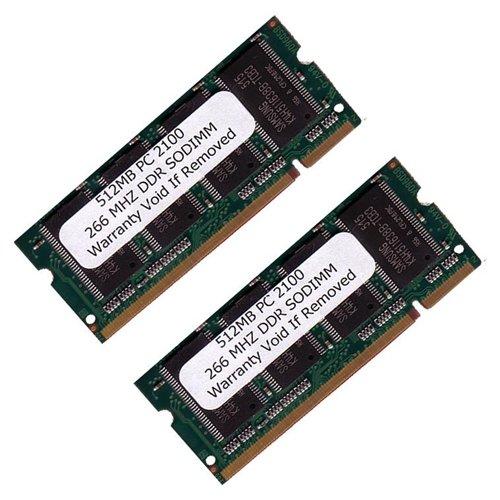 eMartBuy 1GB (512MBx2) DDR SODIMM (200 pin) 266Mhz DDR266 PC2100 FOR Hewlett Packard/Compaq Pavilio
