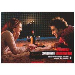 Confessions of a Dangerous Mind Poster Movie German B 11 x 14 In - 28cm x 36cm Sam Rockwell George Clooney Jennifer Rae Westley Drew Barrymore Julia Roberts Rutger Hauer