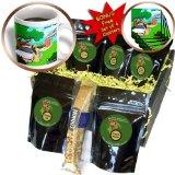 cgb_47941_1 Londons Times Offbeat Cartoons - Bugs N Slugs - Slug Highway Patrol Radar Police - Coffee Gift Baskets - Coffee Gift Basket