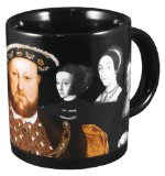 Henry VIII Disappearing Wives Mug