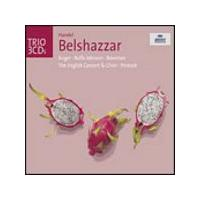 George Frideric Handel - Belshazzar (Pinnock, English Concert, Auger, Johnson) (Music CD)