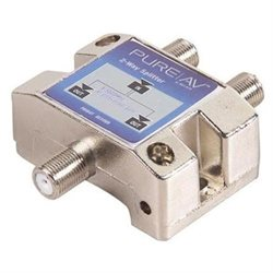 Belkin Pure Av Av24101 Blue 2-Way Video Splitter