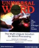 Universal Word 2000 ML-9 European, Arabic, Hebrew, Cyrillic,Indian, Asian, Ancient & Biblical Languages