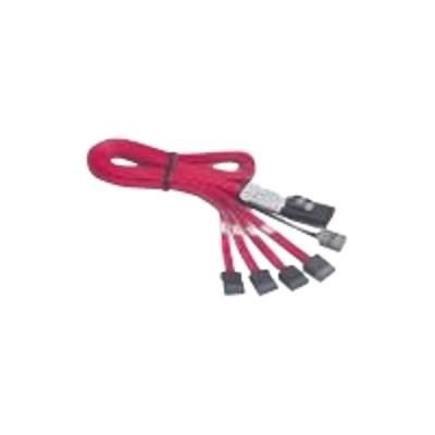 Promise Cabms2fn10 Sata / Sas Cable - With Sidebands - Straight Thru - 4-lane - Sata (f) To 36 Pin 4i Mini Multilane (m) - 3.3 Ft