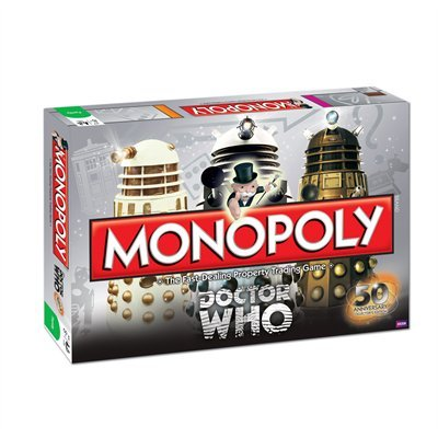 Doctor Who Monopoly By Usaopoly