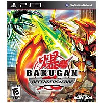 The Activision 047875764927 Bakugan  Defenders of the Core is a multi style action game based on the anime series, featuring mighty Bakugan monsters and the human Battle Brawlers who guide them in combat
