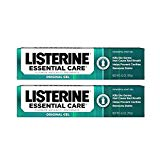 Listerine Essential Care Original Gel Fluoride Toothpaste, Prevents Bad Breath and Cavities, Powerful Mint Flavor for Fresh Oral Care, 4.2 oz (Pack of 6)