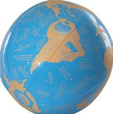 American Educational Vinyl Clever Catch World Geography Ball, 24