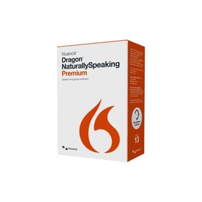 Nuance Communications K609a-s00-13.0 Dragon Naturallyspeaking Premium - (v. 13) - Box Pack - 1 User - Local  State - Dvd - Win - English - United States