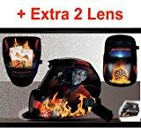 iMeshbean® New Gambler Cool Pro Solar Auto Darkening Welding Grinding Helmet Arc Tig Mig Hood Mask USA
