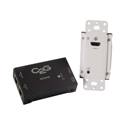 C2g 29374 Short Range Hdmi Over Cat5 Extender - Wall Plate To Box - Video/audio Extender - Up To 164 Ft