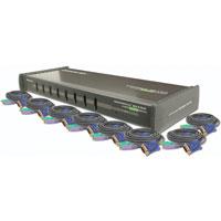 MiniView Ultra KVM Switch GCS138 - KVM switch - 8 ports - desktop