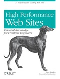 Want your web site to display more quickly? This book presents 14 specific rules that will cut 25% to 50% off response time when users request a page