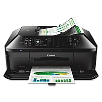 Canon Pixma Mx922 Inkjet Multifunction Printer - Color - Photo/disc Print - Desktop - Copier/fax/printer/scanner - 15 Ipm Mono/10 Ipm Color Print (iso) - 21 Second Photo - 9600 X 2400 Dpi Print - Automatic Duplex Print Cpm Mono/8.4 Cpm Color Copy Ipm Mono 6992b002